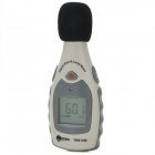 "TECMAN TM810M Mini 1.4 ""LCD Digital Sound Level Meter w / Mikrofon - Hellgrau Dunkelgrau + + Schwarz"