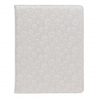 Cool Skull Pattern Rotatable PU Leather Case Stand for Ipad 2 / 3 / 4 - White