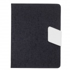 Stylish Protective PU Leather Case Stand for Ipad 2 / 3 / 4 - Black + White
