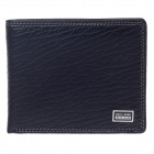BEIDIERKE B056-918 High-Grade Head Layer Cowhide Wallet - Black