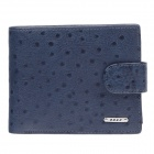 BEIDIERKE B016-206 High-Grade Head Layer Cowhide Wallet - Deep Blue
