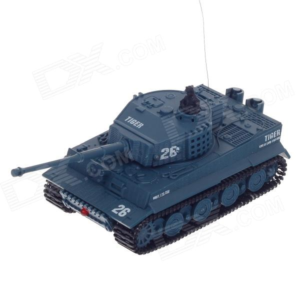 1:72 2.5-Channel Radio Control Battle Tank Model Toy - Grey (49MHz)