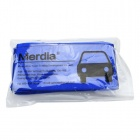 Merdia QPYP06COOH1 Microfiber Cleaning Cloths - Blue (64 x 35cm / 5 PCS)
