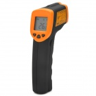 "Smart-AR320 Non-Contact 1.2 ""LCD Digital Infrarot Thermometer Gun w / Laser - Schwarz + Orange"