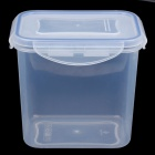 Hengyida Plastic Food Container - Transparent + Blue (0.9L)