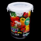 Hengyida Plastic Food Container - Transparent + White (0.45L)