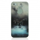 ENKAY Pegasus Pattern Protective Plastic Back Case for Iphone 5 - Multicolored