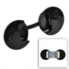 CHEERLINK Creative Mini Handle Speaker for iPhone 4 / 4S - Silver + Black