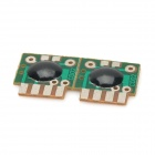 V90 DIY 3-Sound Alarm IC Module - Green + Black + Silver (2PCS)