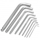 ProsKit HW-229B L-shaped Hex Key Wrenches - Silver (9 PCS)