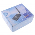 Partom FPV-5806 + Fox-R58 5.8G 600mW 9-CH AV Wireless Transmissor + Receptor Set para RC
