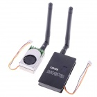 Partom FPV-5806 + Fox-R58 5.8G 600mW 9-CH Wireless AV Transmitter + Receiver Set for RC Helicopter