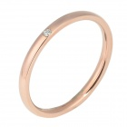 eQute RSSC4C99S8 Fashion Titanium Steel for Women - Rose Golden (U.S.A Size 8)