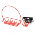 WLtoys V999-17 Universal Aircraft Toy Transportation Module w/ Basket Spare Part Kit - Black + Red