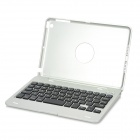 KM3 Handy 59-key Bluetooth V3.0 Keyboard w/ Protective Case for Ipad MINI - Silver