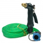 Portable High Pressure Car Washing / Cleaning Gun w/ Hose - Green