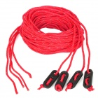 NatureHike Outdoor Nylon Reflective Mountaineering / Hiking Tent Line Rope - Red (4 PCS / 4m)