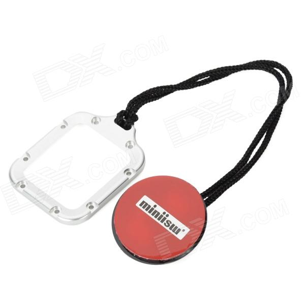 Miniisw A-L39 Safety Buckle Tethers for Gopro Hero 3 - Silver + Red + Black