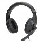 LoTong LH872 Stereo Headphones Headset - Black (3.5mm Plug / 190cm-Cable)