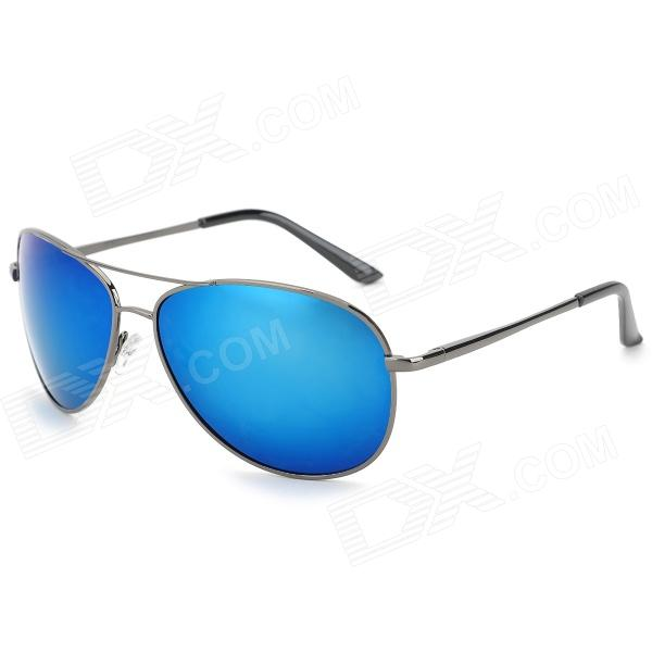 A103 Fashion Outdoor Anti UV400 Men's Polarized Sunglasses - Gun Grey + Blue compatible color laser printer chip for xerox phaser 7100 toner reset chip for xerox 7100