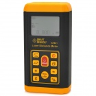 "SMART AR861 2"" LCD Digital Laser Distance Measuring Meter - Black + Orange (2 x AA)"