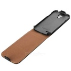 Retro Durable Flip-open Protective Leather Case for Samsung S4 Mini i9190 - Black