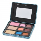 Professionelle Kosmetik, Make-Up 9-Color Eye Shadow Kit w / Spiegel