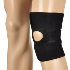 Coolchange KG-733 Outdoor Sports Elastic Knee Support Protector - Black