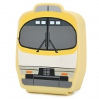 Creative Locomotive Pattern Silicone Coin Purse - Yellow