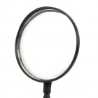 360 Degree Rotatable Universal Bicycle Convex Rearview Mirror w/ Mount - Black