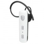 Universal Bluetooth Stereo Headphone for Iphone / Samsung + Cellphone - White + Silver + Black