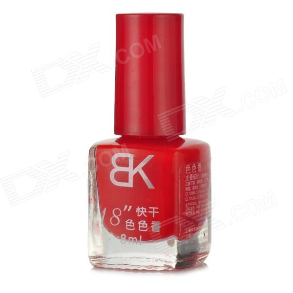 Sexy Quick Dry Rose Scent Nail Polish - Red (8ml)