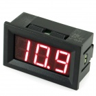 "V27D-T1 0.56"" 3-Digital LED Voltmeter - Black (DC 3.2~30V)"