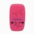 Electronic Ultrasonic Wave Mosquito Repellant - Pink (100~240V / EU Plug)