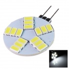 GCD 318 G4 5W 350lm 15-SMD 5630 LED White Light Car Lamp - (12V)