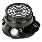 H1XY 2002 Self-priming Filter Gas Half Mask - Black