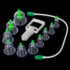 Chinese Medical Vacuum Body Cupping Set - White