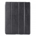 USAMS Protective PU Leather + PC Case for Ipad 2 / 3 / 4 - Silver Grey
