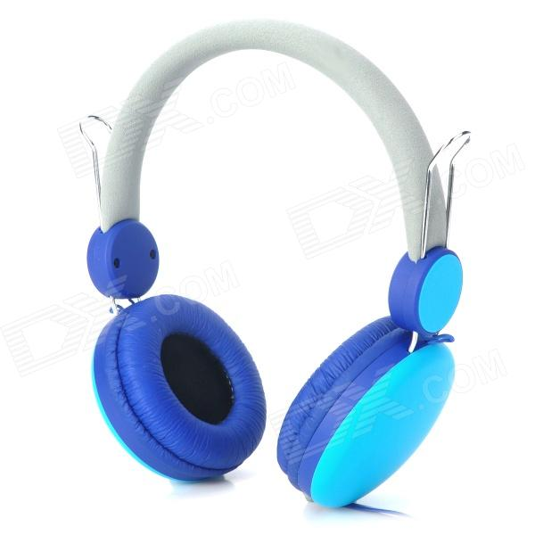 Sound Intone Wired Headphones w/ Microphone for Iphone / Ipad - Cyan + Blue (145cm) Toledo Продажа б у по объявлению