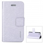 Newtop Protective PU Leather Case for Iphone 4 / 4S - Purple