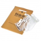 Free Soldier Waterproof Bag with Strap for Iphone 4 / 4S - Translucent White