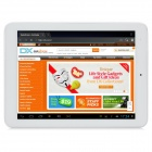 "iaiwai H677 Deluxe 8"" Quad Core Android 4.1 Tablet PC w/ 1GB RAM / 16GB ROM / HDMI - Silver + White"