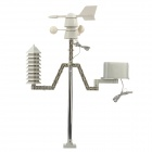 WS1030 ABS Professional Wireless Household Weather Station Set - Black
