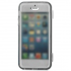 Protective Flip-Open TPU Case for Iphone 5 - Translucent Black