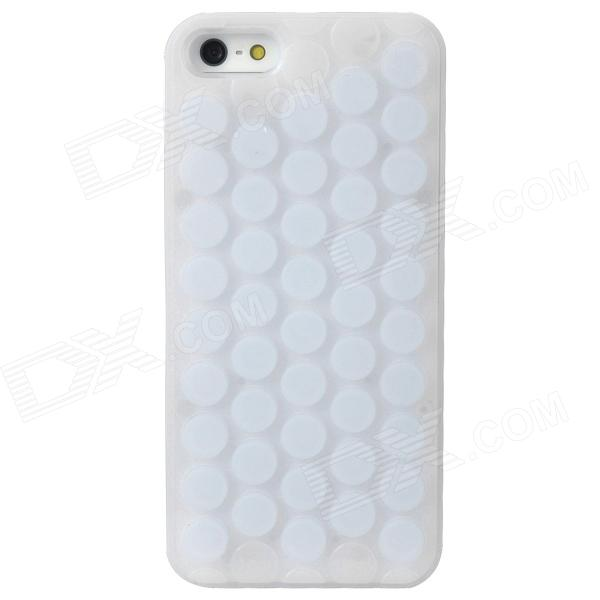 Bubble Protective Plastic Case for Iphone 5 - White 1 piece free shipping abs plastic electronics enclosures case housing for design and any device box could be hang up