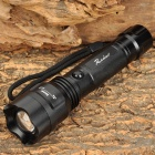 Radar C8M Cree XP-E Q5 150lm 3-Mode White Light Zooming Flashlight - Black (1 x 18650 / 3 x AAA)