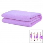 Y01 Superfine Fiber Strong Absorbent Halter Dress Bath Towel - Purple