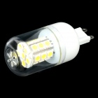 G9 3W 300lm 6000K 24-SMD 5050 LED White Light Bulb - Yellow + Transparent + White (220V)