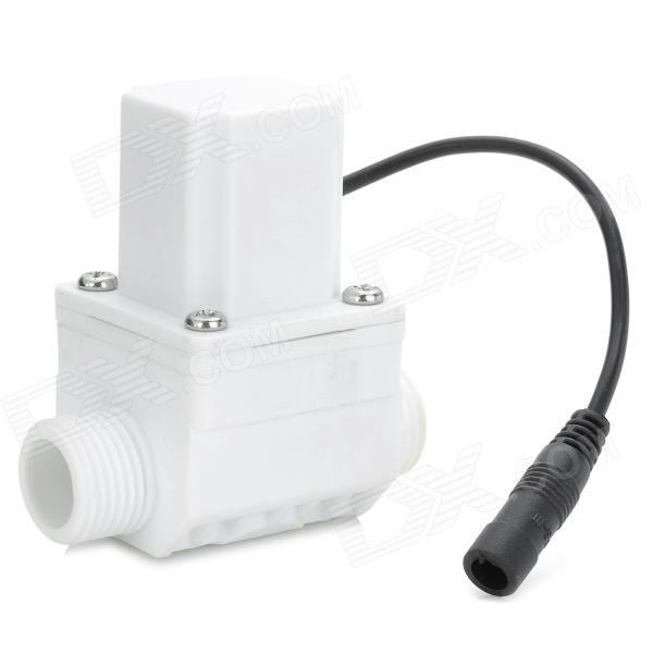 W11 Sensor Faucet Impulse Solenoid Valve - White + Black free shipping 2pcs lot 1 1 4 electric solenoid valve water air n c 2w350 35 dc24v