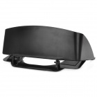 "7"" Car Navigation GPS PVC Lens Hood Sun Shade - Black"